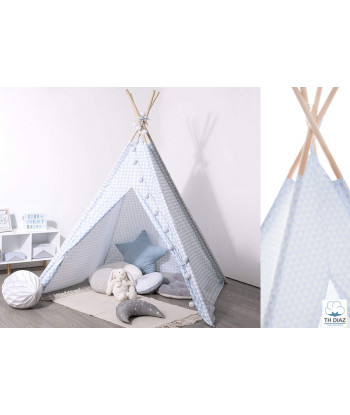 Tipi Decorativo ATMOSPHERA Azul