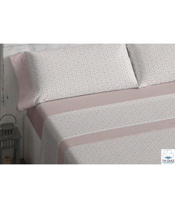 Juego de Sábanas Ecológicas algodón organico- 300 - Burrito Blanco