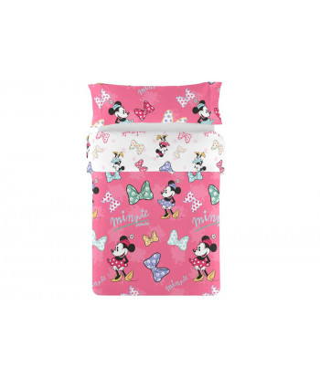 Funda Nórdica Reversible 2 piezas DISNEY Mickey Sweet Lazo